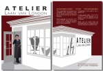 Atelier Laan van London - flyer