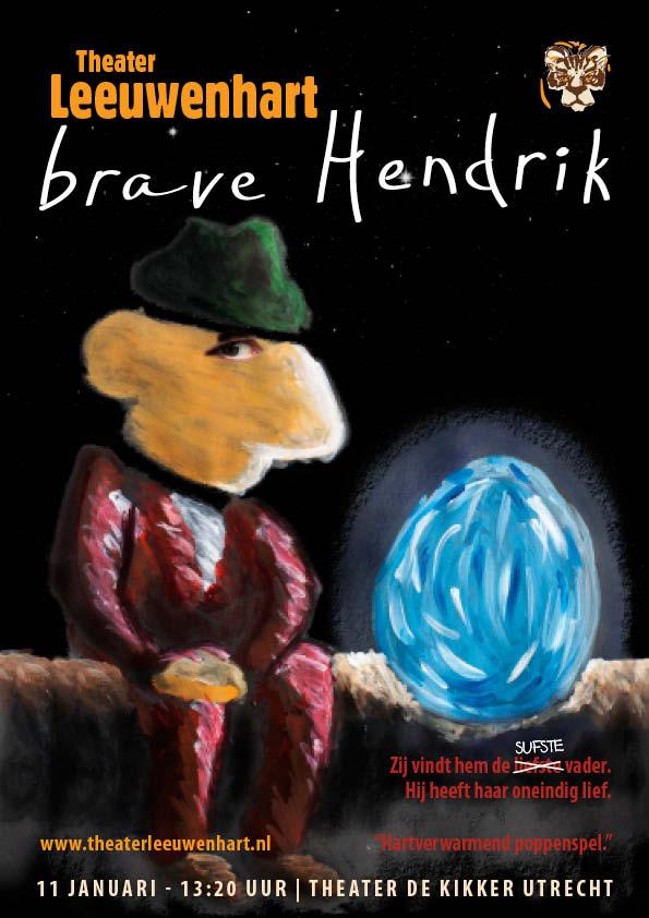 Poster Brave Hendrik Theater Leeuwenhart